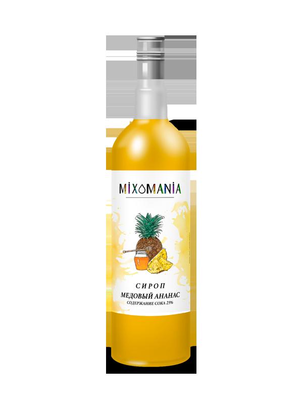 Фруктовый сироп с соком «Медовый Ананас»