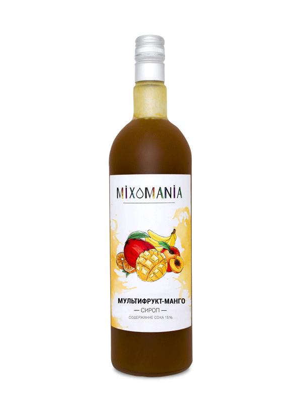 Фруктовый сироп с соком «Мультифрукт-Манго»