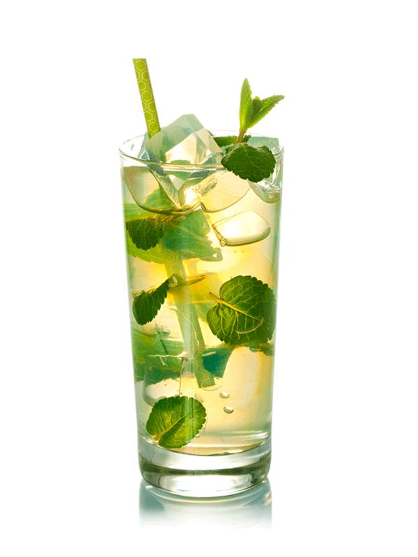 Мятный чай с ромом — коктейль алкогольный