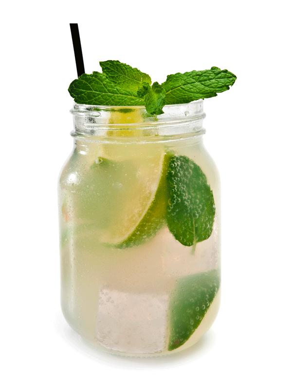 Мятное чудо — лимонад