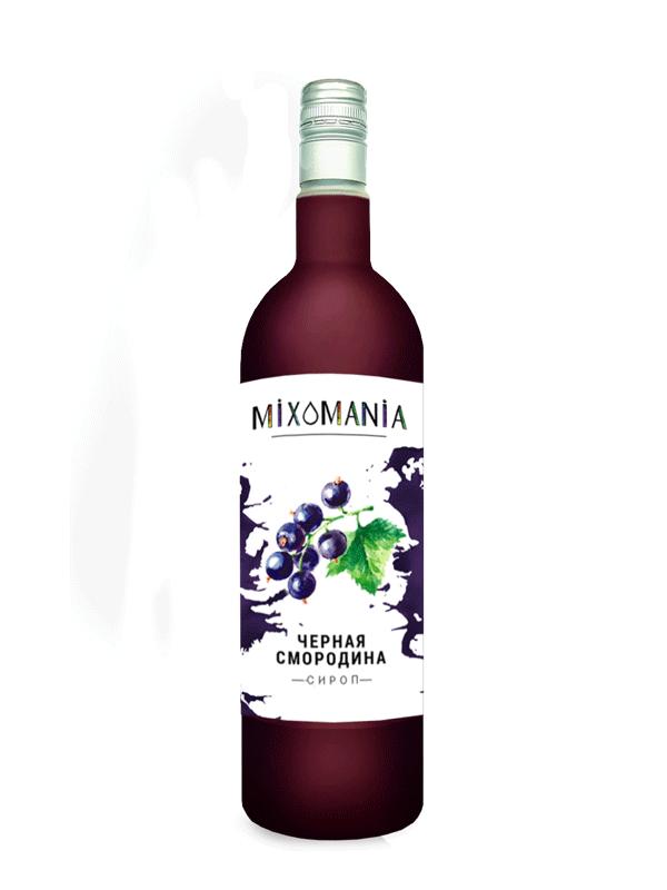 Ягодный сироп «Черная Смородина»