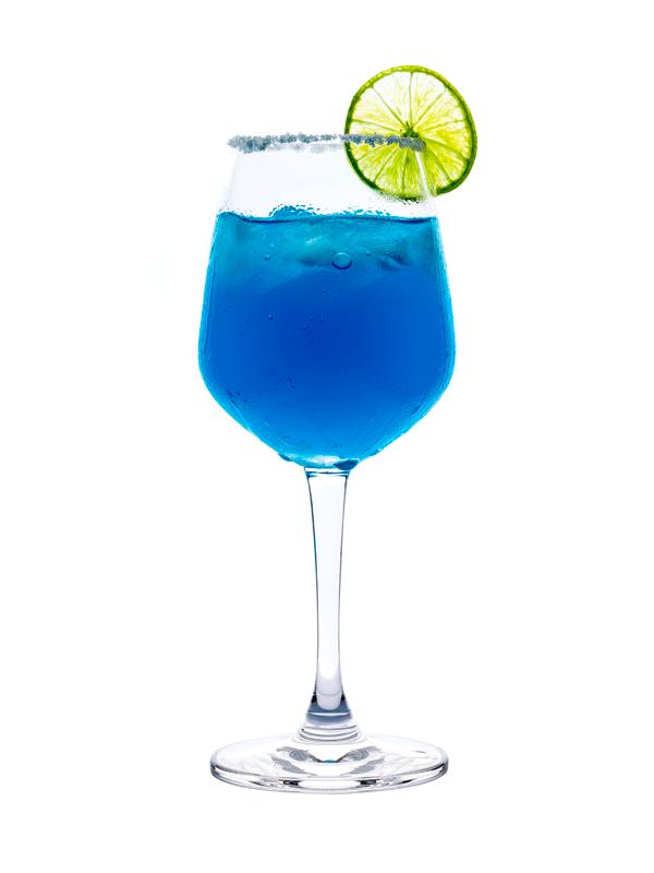 Коктейль Голубая Лагуна. Безалкогольный рецепт с сиропом Миксомания