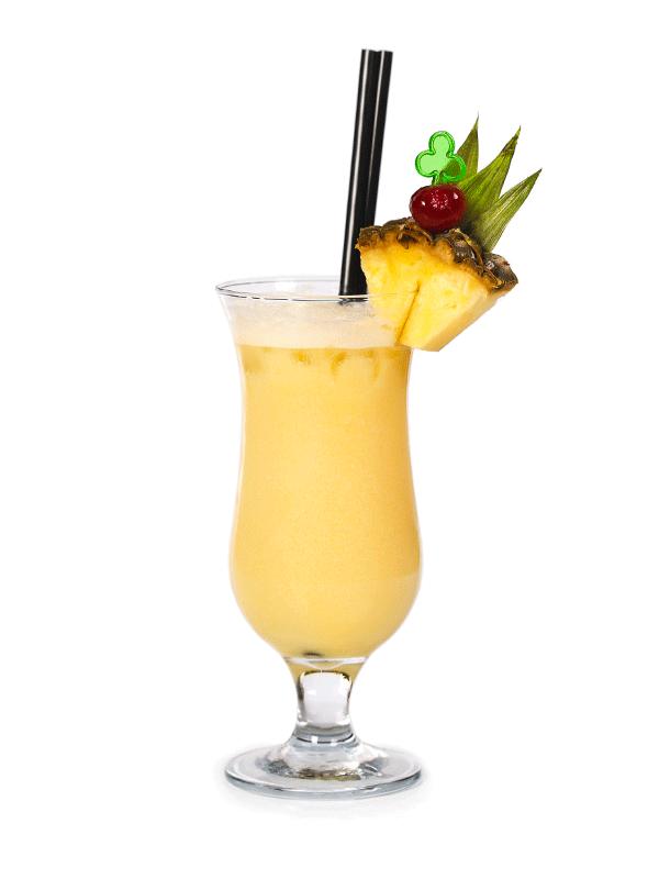 Пина Колада — безалкогольный коктейль с мороженым | Миксомания