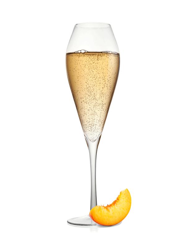 Безалкогольный коктейль с сиропом Беллини
