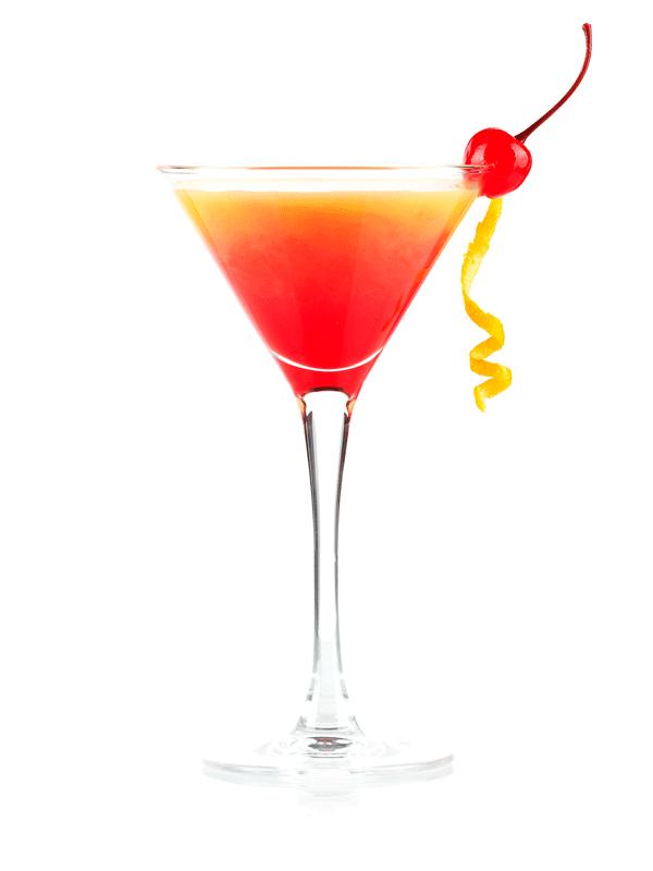 Безалкогольный коктейль Текила Санрайз — рецепт с сиропом Миксомания