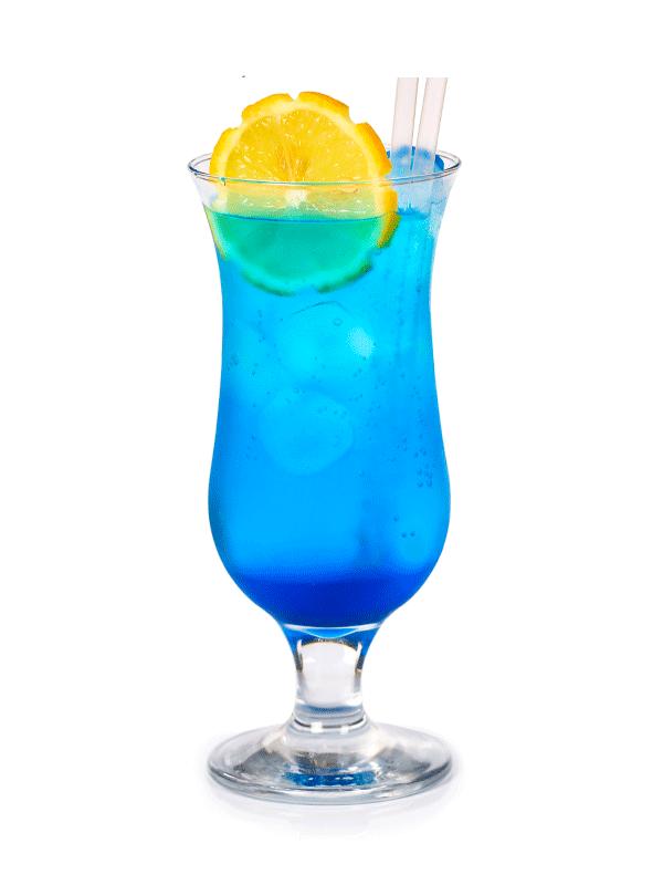 Блю Кюрасао безалкогольный коктейль — рецепт с сиропом