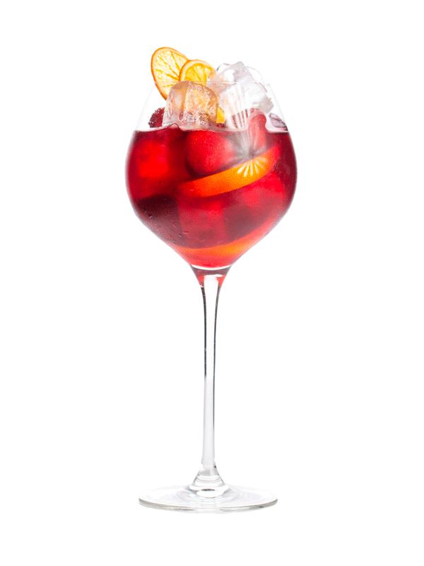 Безалкогольный коктейль Сангрия — рецепт с сиропом Миксомания