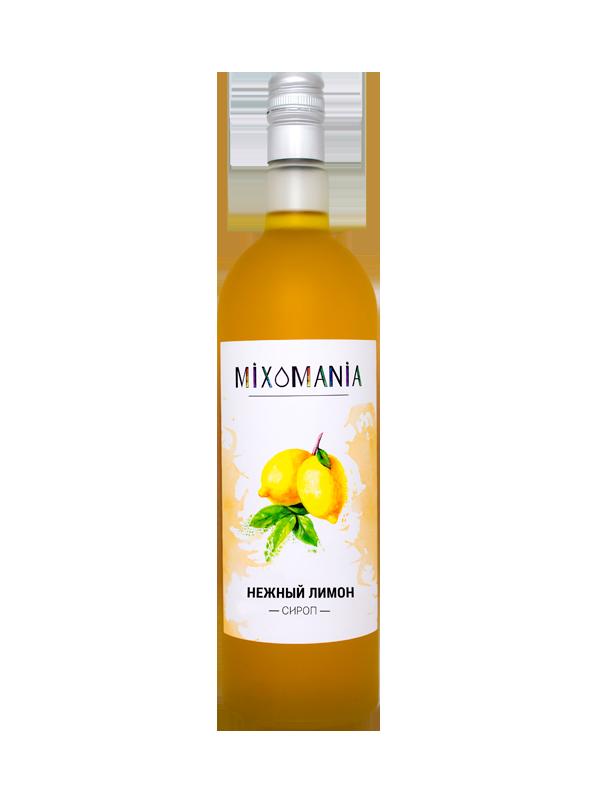 Лимонный сироп купить | Магазин с ценой опта от Миксомании