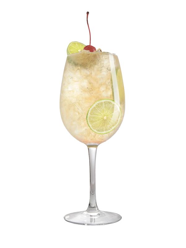 Алкогольный коктейль Ромовые Сливки с сиропом Миксомания