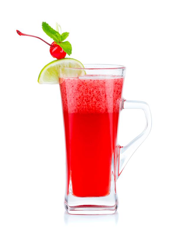 Безалкогольный коктейль с вишневым сиропом
