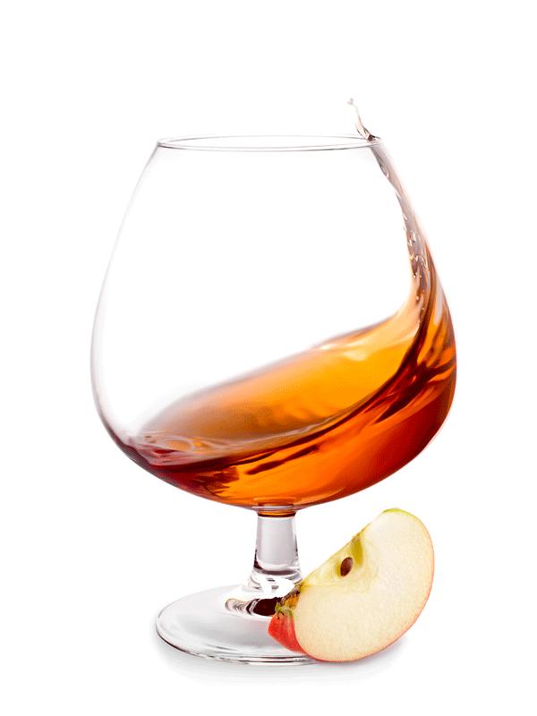 Яблочный коктейль с сиропом от Миксомании
