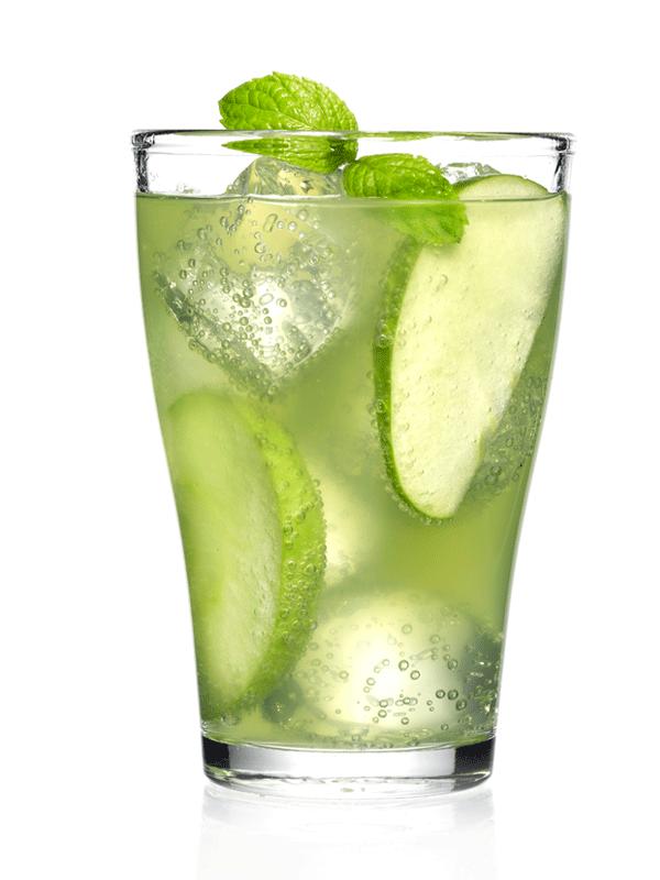 Безалкогольный яблочный коктейль | Миксомания