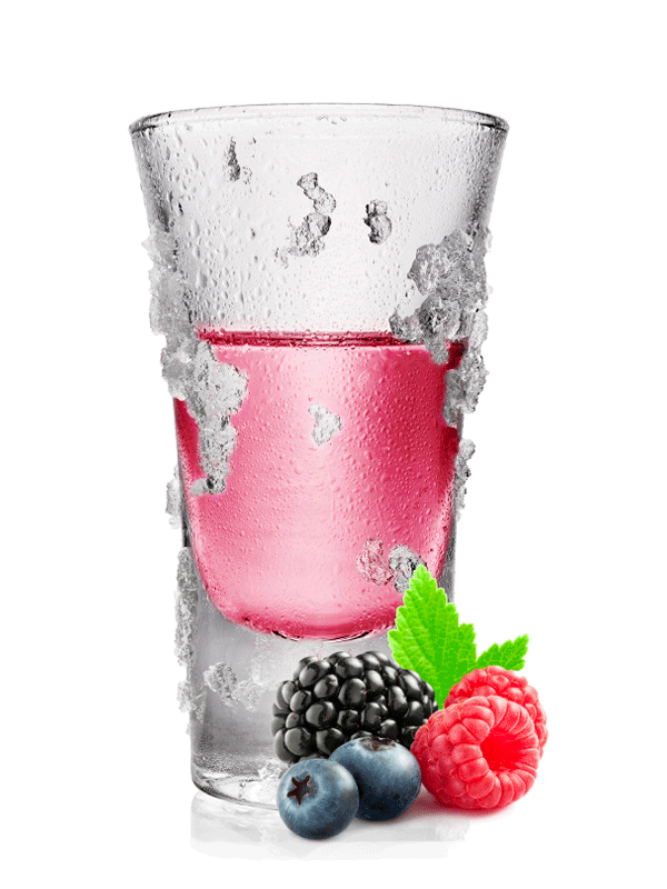 Ягодный коктейль — рецепт с сиропом и водкой