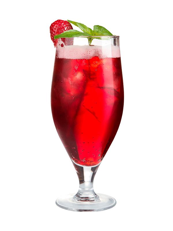 Клубничный коктейль — рецепт с сиропом Миксомания