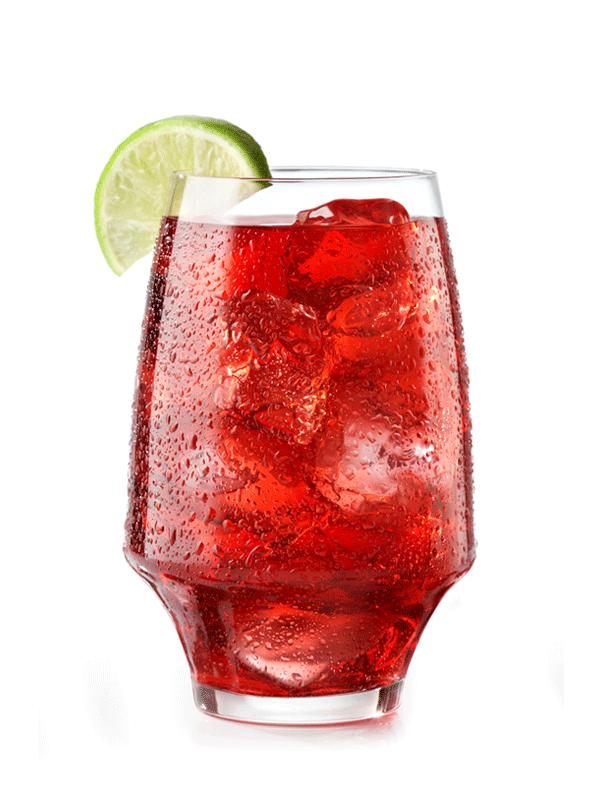 Безалкогольный коктейль с сиропом «Сочный Гренадин»