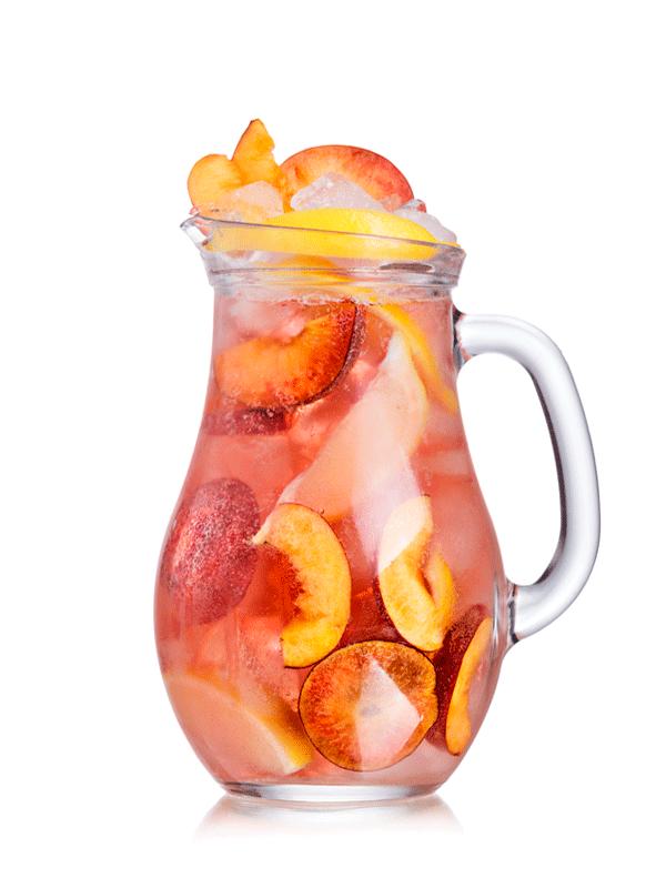 Коктейль с соком персика