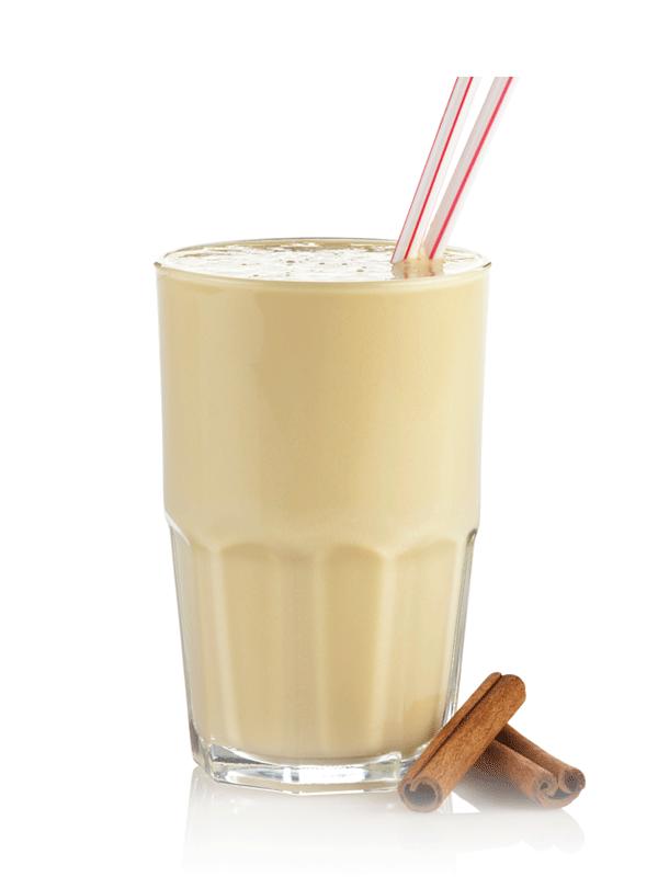 Молочный грушевый коктейль с сиропом