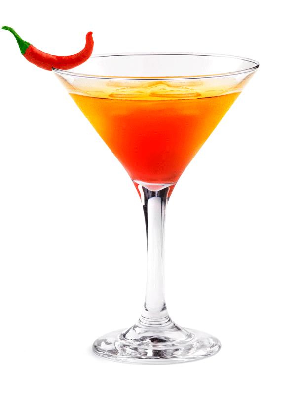 Острый коктейль из острого сиропа | Миксомания