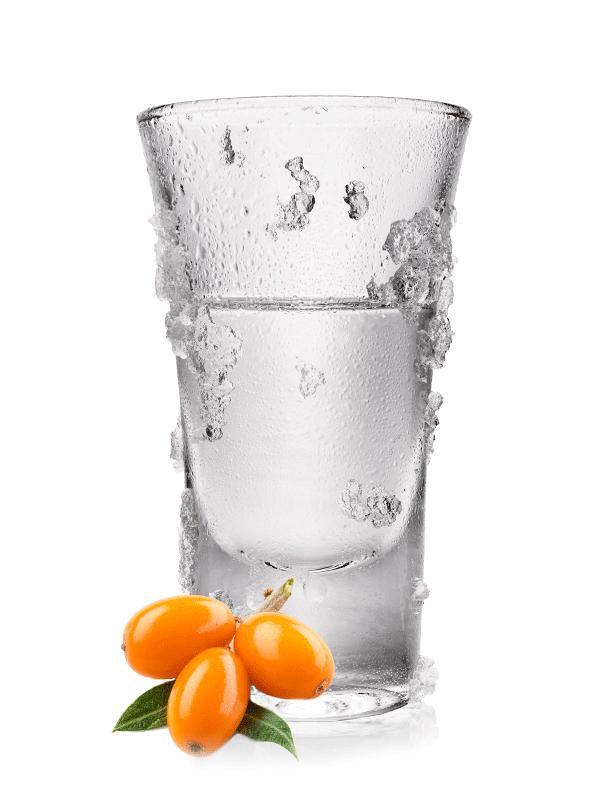 Водка с облепихой — коктейль алкогольный