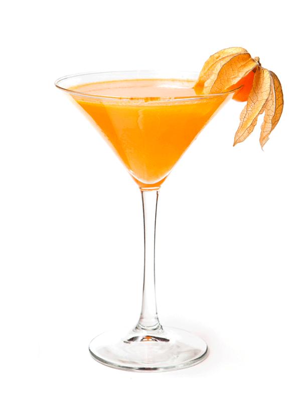 Алкогольный коктейль с сиропом «Цветки Апельсина»