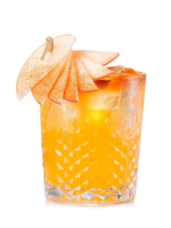 Коктейль алкогольный Яблочная феерия, рецепт